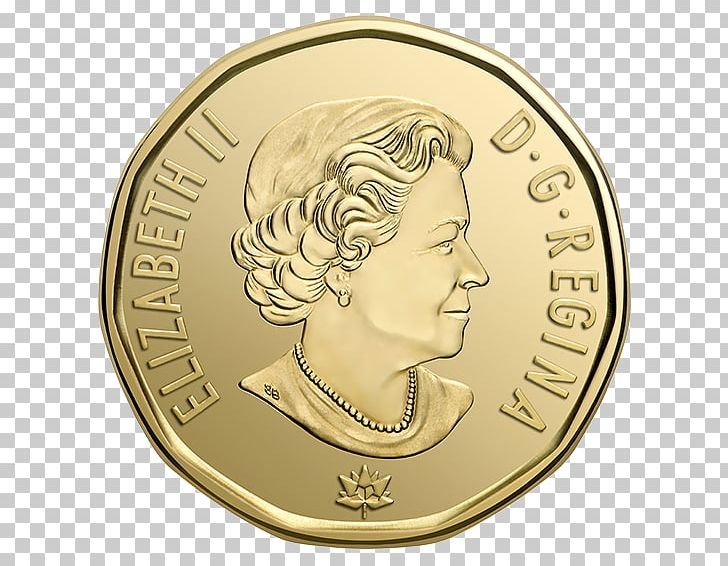 150th Anniversary Of Canada Loonie Coin Royal Canadian Mint PNG.