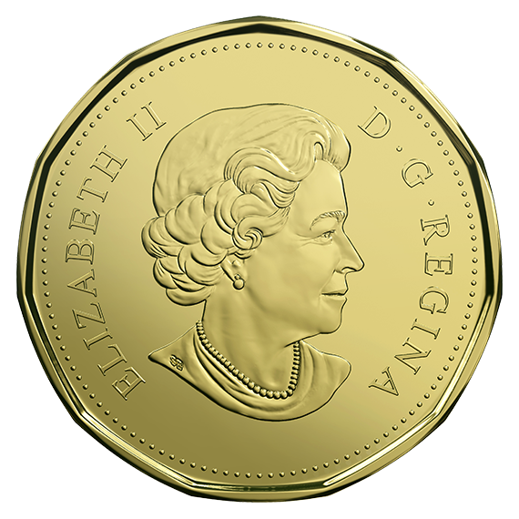 Coin clipart loonie, Coin loonie Transparent FREE for download on.