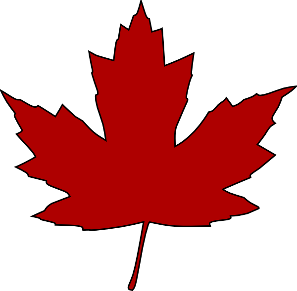 Free Vector Maple Leaf Clip Art.