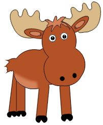 Canadian moose clipart 2 » Clipart Station.