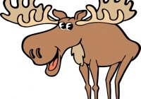 canadian moose free clipart.
