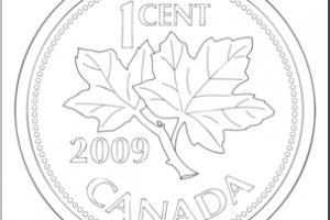 Canadian penny clipart 1 » Clipart Portal.