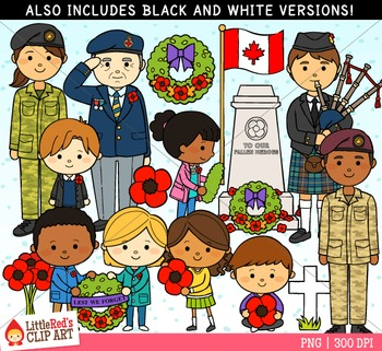 Remembrance Day Canada Clipart.
