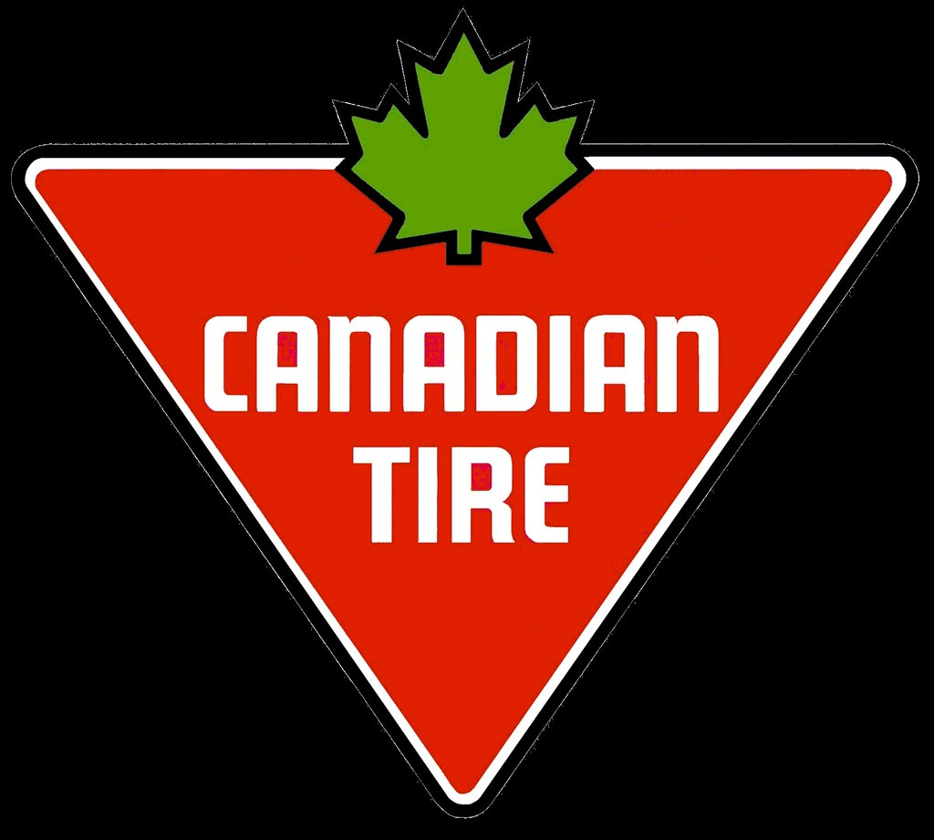 canadian tire logo.