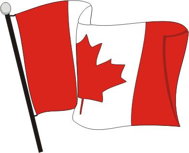 Canadian Flag Clipart.