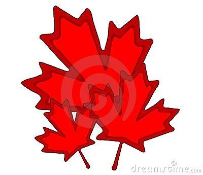 Canadian maple leaf clip art.