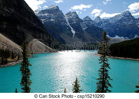 Pictures of Lake McArthur,Canadian Rockies,Canada.