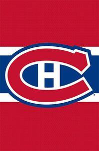 Details about MONTREAL CANADIENS Official NHL Hockey Team Logo Wall POSTER.