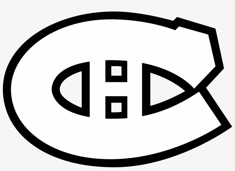 Montreal Canadiens Logo Black And White.