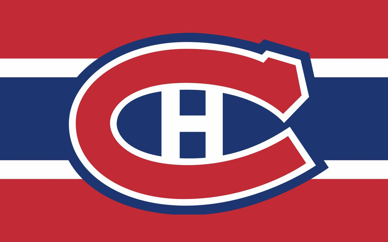Clipart of the Montreal Canadiens Logo free image.