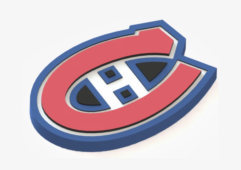 Montreal Canadiens Logo 3d Print.