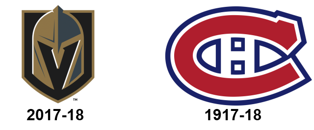 Canadiens and Golden Knights now linked in hockey history.