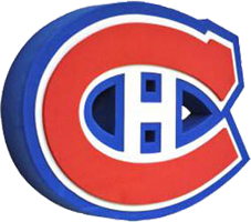 Montreal Canadiens 3D Logo Wall Sign.