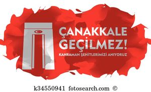 Canakkale Clip Art and Illustration. 55 canakkale clipart vector.