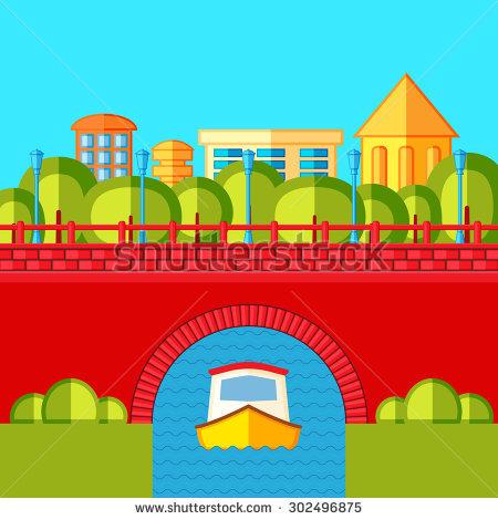 Small Bridge Stock Vectors, Images & Vector Art.