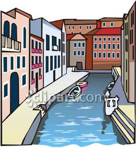 Canal Clip Art.