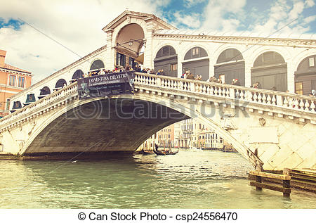 Picture of VENICE, ITALY, January 1, 2011: The beautiful view of.