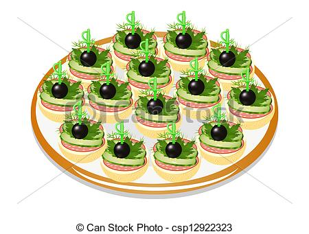 Canape Illustrations and Clipart. 170 Canape royalty free.