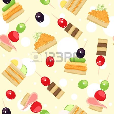 142 Canape Snacks Stock Illustrations, Cliparts And Royalty Free.