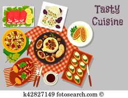 Canapes Clipart Royalty Free. 107 canapes clip art vector EPS.