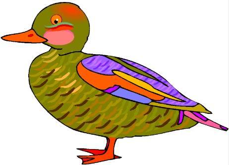 Ducks Clip Art.