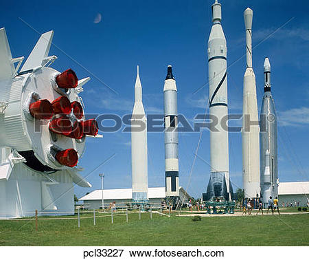 Picture of Cape Canaveral, Kennedy Space Ctr pcl33227.