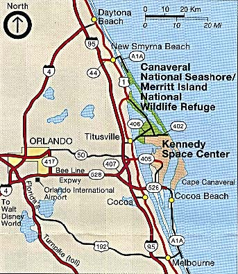 Florida island map clipart.