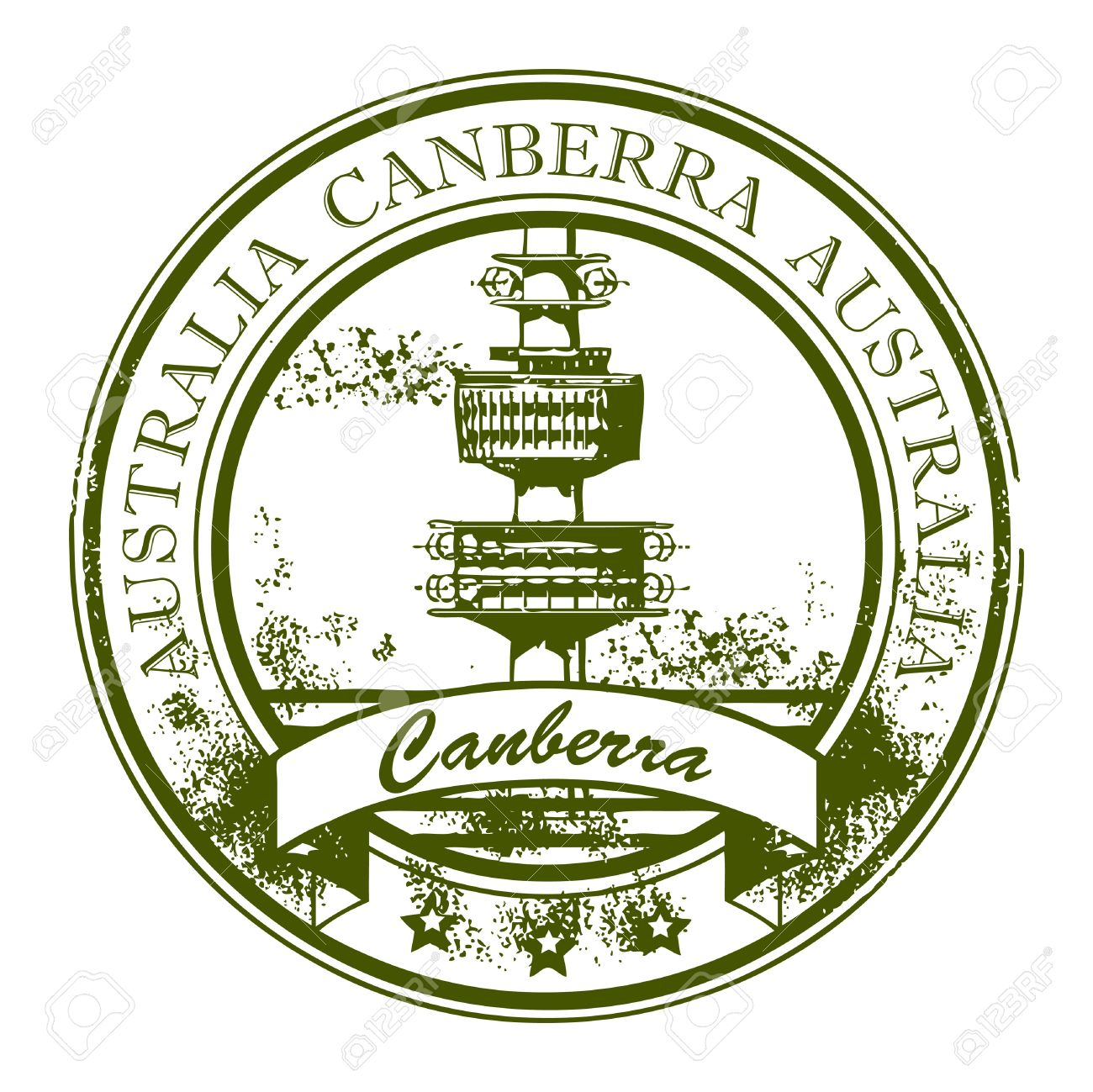 934 Canberra Australia Stock Vector Illustration And Royalty Free.