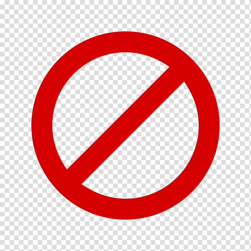 Cancel transparent background PNG cliparts free download.