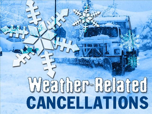 Cancellations clipart.