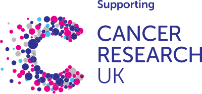 Supporting Cancer Research UK logo.