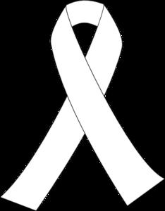 Ribbon For Cancer clip art.