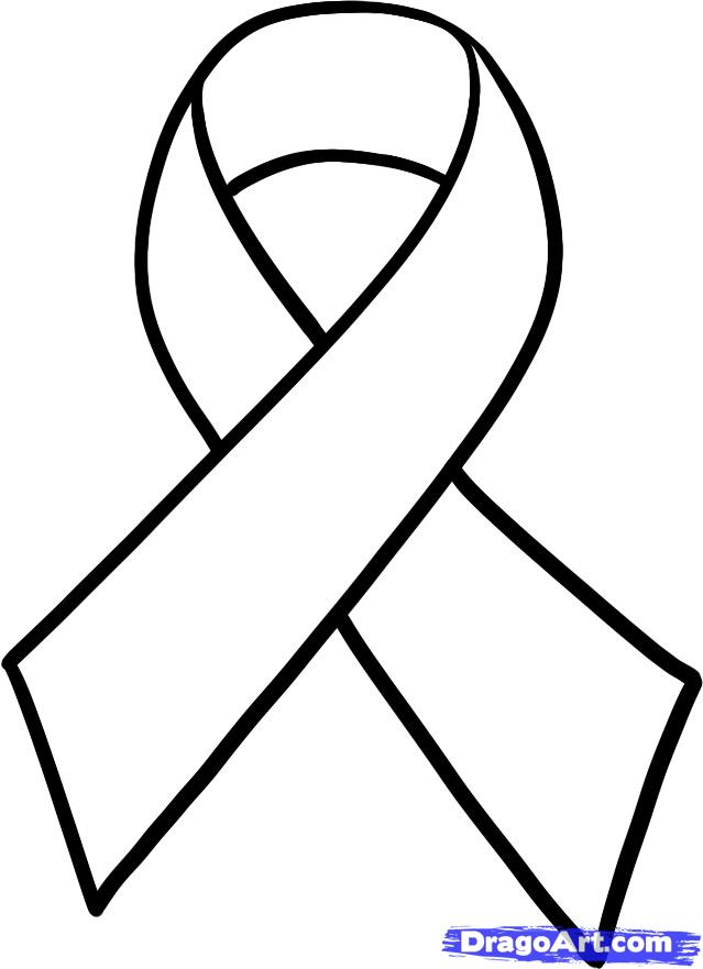 Free Cancer Ribbon Outline, Download Free Clip Art, Free Clip Art on.