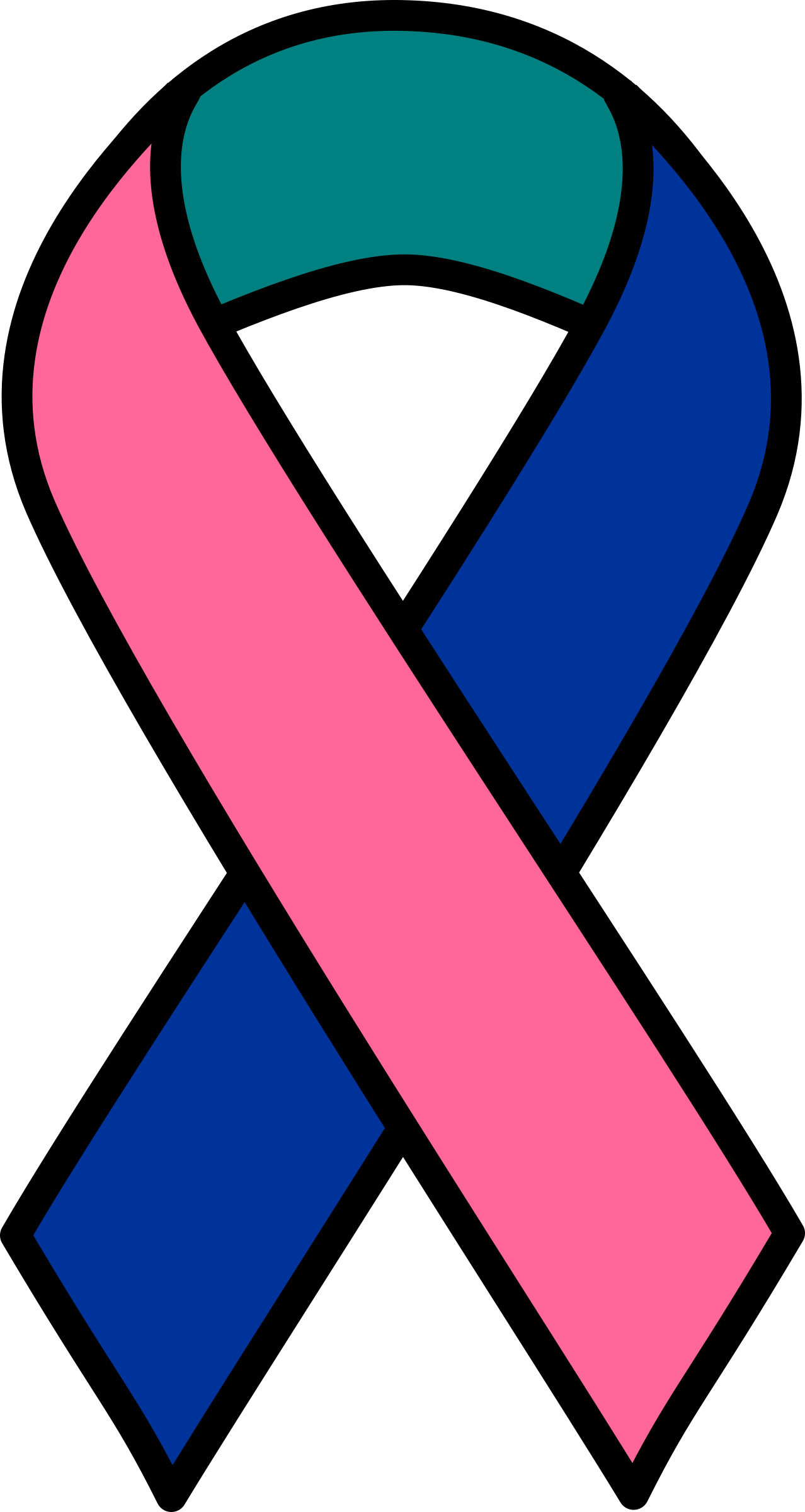 Clipart thyroid cancer ribbon.