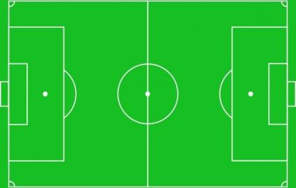 Free download of Prediseñadas de cancha de fútbol Vector Graphic.