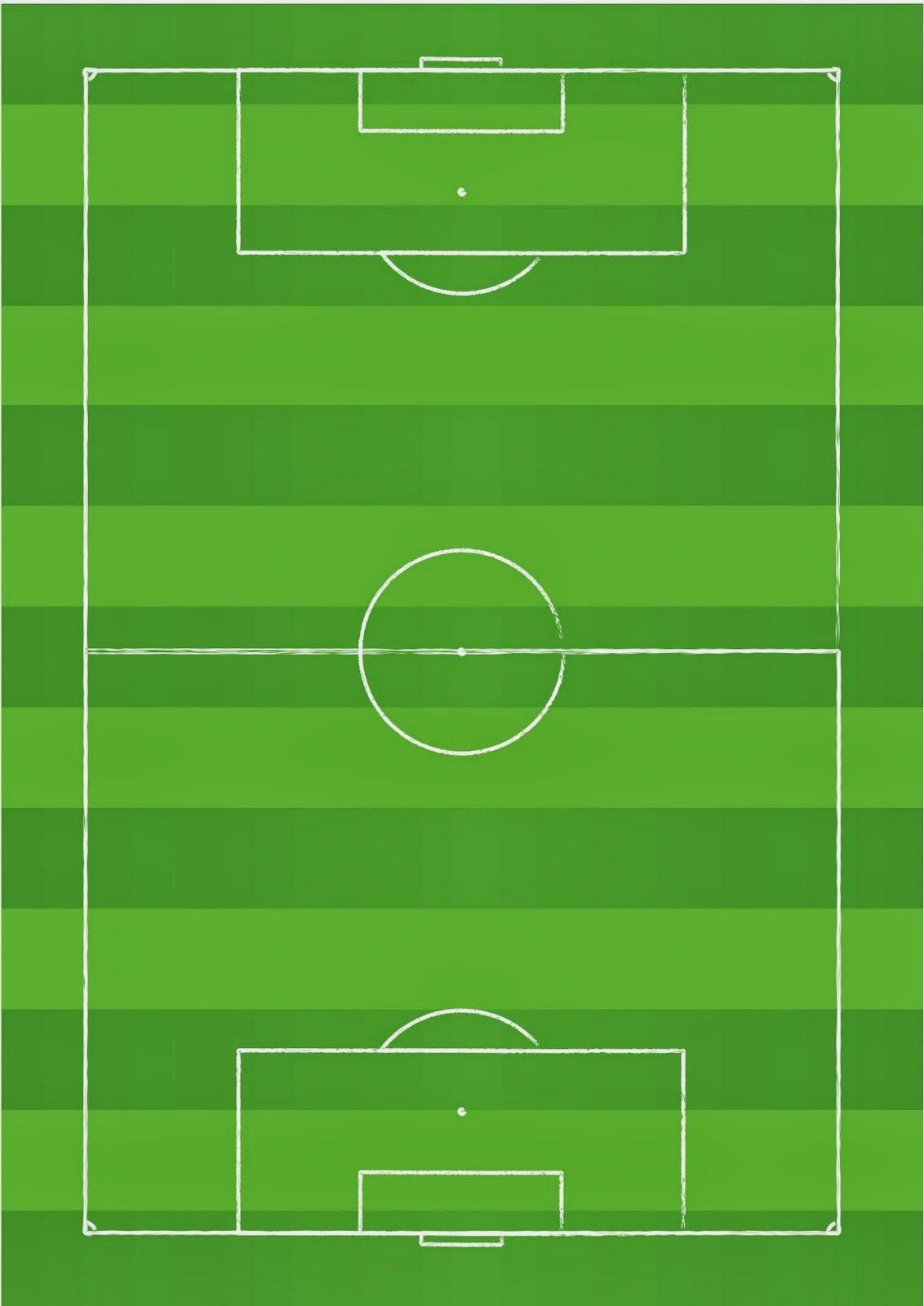 Kit para Fiestas de Futbol, para Imprimir gratis..