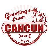 Cancun Clip Art.