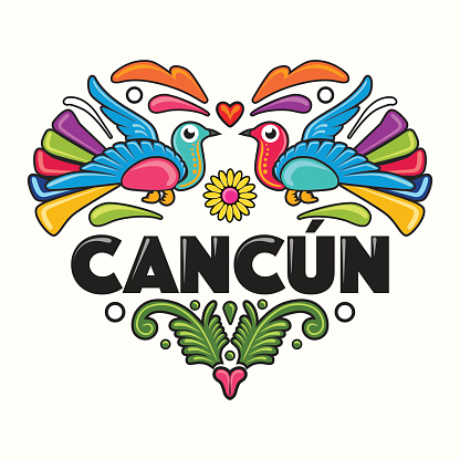 Cancun Mexico Clip Art, Vector Images & Illustrations.