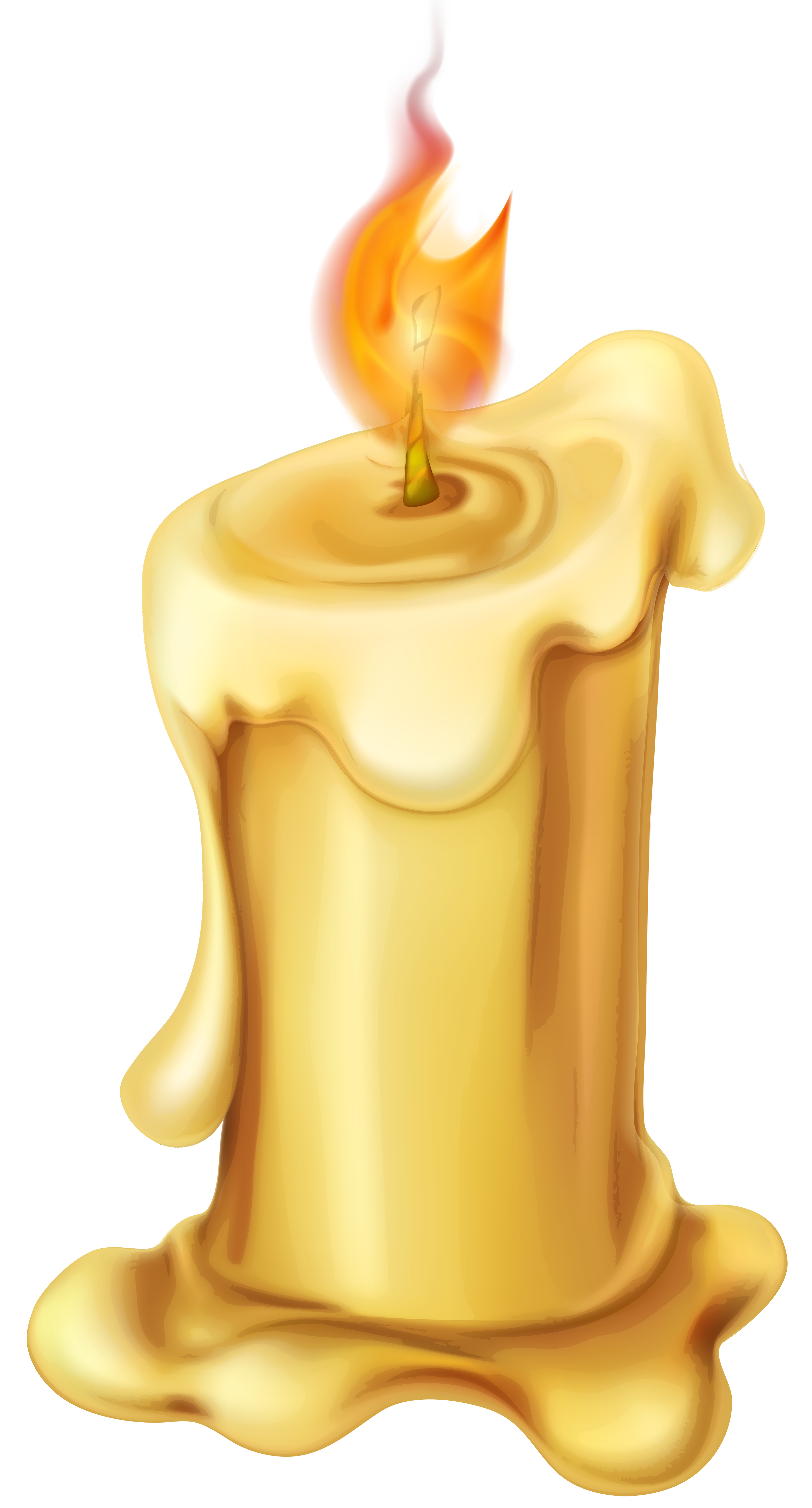 Candle PNG Clip Art.