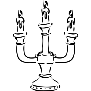 candelabra clipart, cliparts of candelabra free download (wmf, eps.