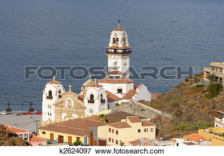Picture of Basilica of Candelaria. Canary Island Tenerife, Spain.