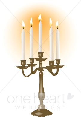 Candelabra clipart 1 » Clipart Station.