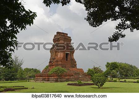 """Stock Photography of """"Brahu Temple, Candi Brahu, Mojokerto, Java."""