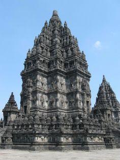 Mendut Temple, near Borobudur, Magelang, Central Java, Indonesia.