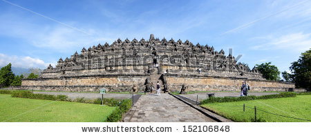Vector Images, Illustrations and Cliparts: Candi Borobudur in.