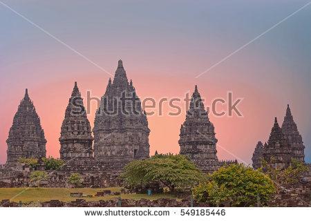 Prambanan Stock Photos, Royalty.