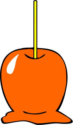 Candi apple clipart.