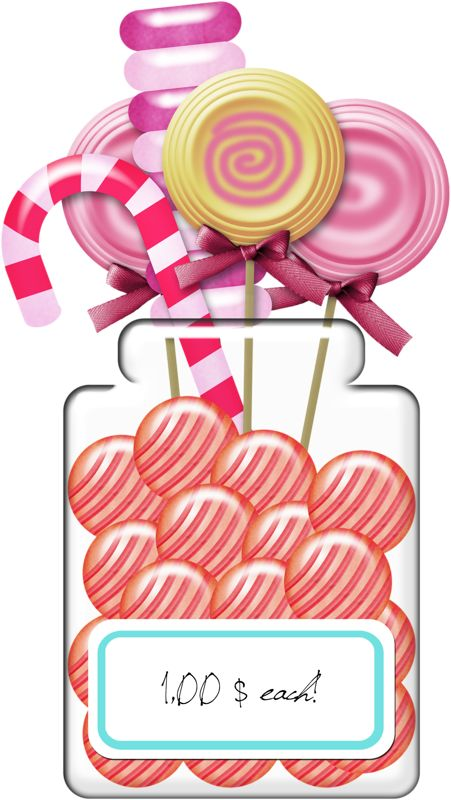 SWEETS Clipart Illustrations Digital Clip Art Vector Art File.