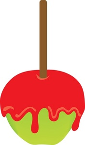 Candi apple clipart.