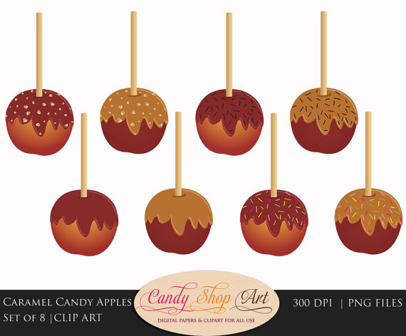 Fall Candy Clipart.